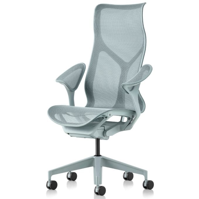 Herman Miller High-Back Cosm Office Chair Dipped in Glacier Colour
